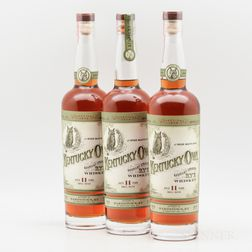 Kentucky Owl Rye 11 Years Old, 3 750ml bottles