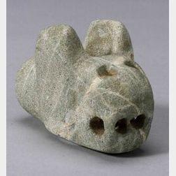 Pre-Columbian Stone Mace Head