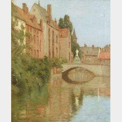 Charles Warren Eaton (American, 1857-1937)  Bruges