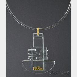 Solar-Lunar Necklace #8, Margret Craver