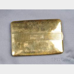 14kt Gold Case, Battin & Company, Newark
