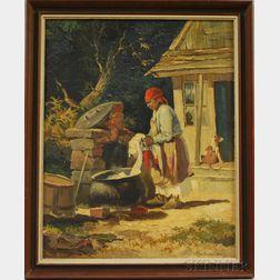 Chester K. Van Nortwick (American, 1881-1944)      African-American Washerwoman