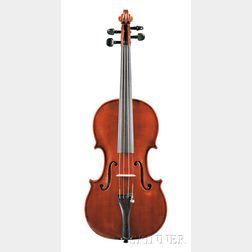 "Italian Violin, Natale Novelli, Copy of the Gagliano ""Rotondo,"" Milan, c. 1967"
