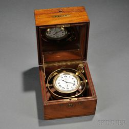 "Elgin ""Father Time"" Boxed Chronometer"