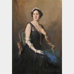 Philip Alexius de László (Hungarian, 1869-1937)      Portrait of an Elegant Woman, Possibly Mme. H.S. Lehr