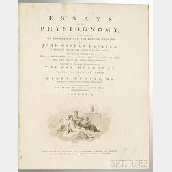Lavater, John Caspar (1741-1801) Essays on Physiognomy.