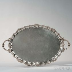 George VI Sterling Silver Tray