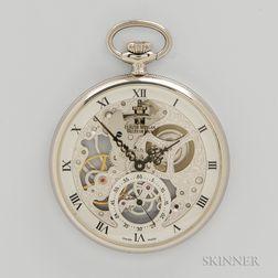 Claude Meylan Skeletonized Pocket Watch