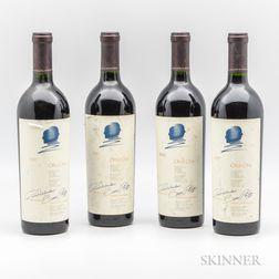 Opus One 1997, 4 bottles