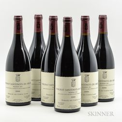 Comte Lafon Volnay Santenots du Millieu 2006, 6 bottles