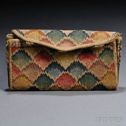 Wool Needlework Wallet
