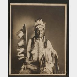 Large Photograph of an Arapaho Indian