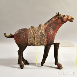 Tang-style Terra-cotta Horse