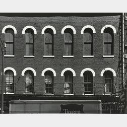 Aaron Siskind (American, 1903-1991)      Chicago Facade 7