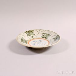 Swatow Blue and White Dish