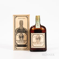 Old Overholt Pure Rye Whiskey 11 Years Old 1921, 1 pint bottle (oc) Spirits cannot be shipped. Please see http://bit.ly/sk-spirits f...