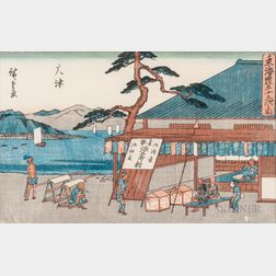 Utagawa Hiroshige (1797-1858), Woodblock Print
