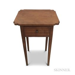 Federal Cherry One-drawer Stand