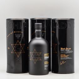 Bruichladdich Black Arts 23 Years Old 1990, 3 750ml bottles (ot)