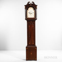 Seth Thomas Inlaid Cherry Tall Clock