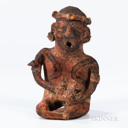 Nayarit Seated Singing Figure