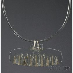 Solar-Lunar Necklace #10, Margret Craver