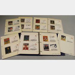 Twenty-nine Baseball and One Football Postage First Day Covers