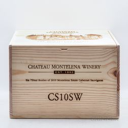 Chateau Montelena Cabernet Sauvignon Estate 2010, 6 bottles (owc)
