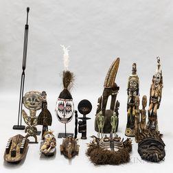 Group of Ethnographic Folk Art Items