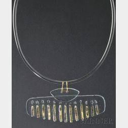 Solar-Lunar Necklace #11, Margret Craver