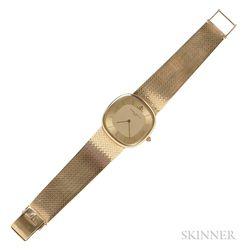 14kt Gold Wristwatch, Baume & Mercier