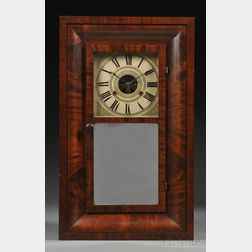 H. Welton and Co. Mahogany Ogee Clock
