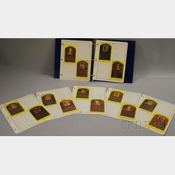 Twenty-six Autographed Baseball Hall of Fame Cards