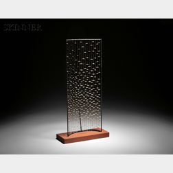 Harry Bertoia (American, 1915-1978)      Maquette for the MIT Kresge Chapel Altar Screen, c. 1950-1955