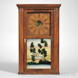Silas B. Terry Shelf Clock