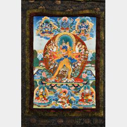 Thangka of Kalachakra