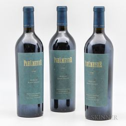 Pahlmeyer Merlot 1999, 3 bottles