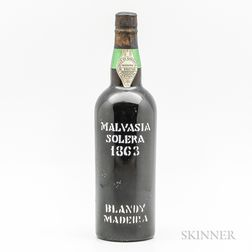 Blandys Madeira Malvasia Solera 1863, 1 bottle