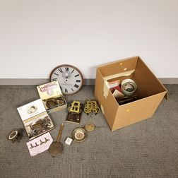 Group of Clock Parts