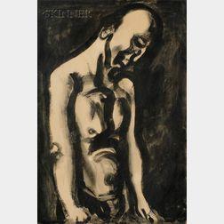 Georges Rouault (French, 1871-1958)      Le condamné s'en est allé...