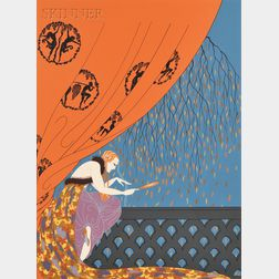 Romain de Tirtoff, called Erté (French, 1892-1990)      Automne