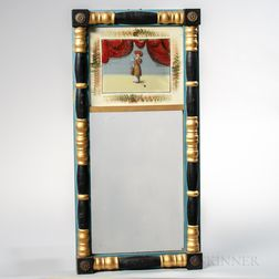 Split-baluster and Reverse-painting on Glass Mirror