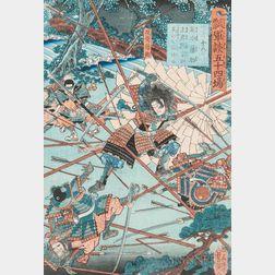 Utagawa Yoshitsuya (1822-1866), Woodblock Print