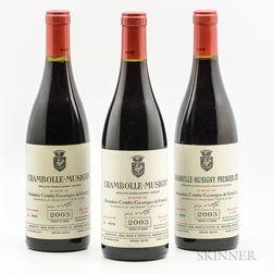 Comte Georges de Vogue, 3 bottles