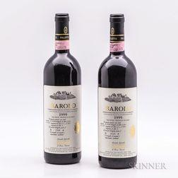 Bruno Giacosa Barolo Le Rocche del Falletto di Serralunga dAlba 1999, 2 bottles