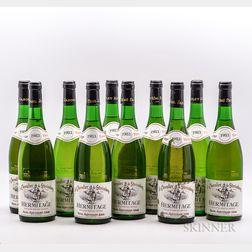 Jaboulet (Le Chevalier de Sterimberg) Hermitage Blanc 1983, 10 bottles