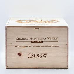 Chateau Montelena Cabernet Sauvignon Estate 2009, 6 bottles (owc)