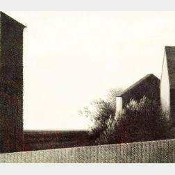Robert Kipniss (American, b. 1931)    Fence