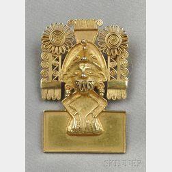 14kt Gold Brooch