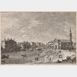 Giovanni Antonio Canal, Called Canaletto (Italian, 1697-1768)      Al Dolo